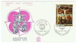 Andorre // FDC // Europa 1975 - FDC
