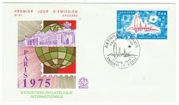 Andorre // FDC // 1975 //  Exposition Philatélique Internationale - FDC