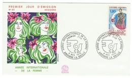 Andorre // FDC // 1975 // Année Internationale De La Femme - FDC