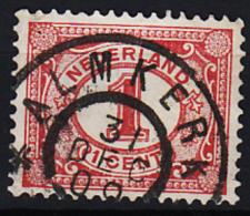 Grootrondstempel Hulpkantoor GRHK 0018 Almkerk Op 51 - 1891-1948 (Wilhelmine)