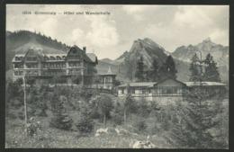 GRIMMIALP BE Hotel Und Wandelhalle Diemtigen Schwenden 1913 - BE Berne