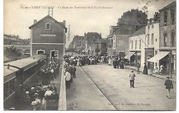 SAINT NAZAIRE - La Gare Du Tramway De La Roche-Bernard - TRAIN - Saint Nazaire