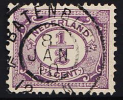 Grootrondstempel Hulpkantoor GRHK 0059 Batenburg Op 50 - 1891-1948 (Wilhelmine)