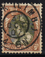 Grootrondstempel Hulpkantoor GRHK 0063 Beek (Limb.) Op 70 - 1891-1948 (Wilhelmine)