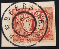Grootrondstempel Hulpkantoor GRHK 0066 Beers (NB.) Op 51 - 1891-1948 (Wilhelmine)