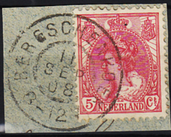 Grootrondstempel Hulpkantoor GRHK 0086 Bergschenhoek Op 60 - Oblitérés