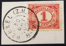 Grootrondstempel Hulpkantoor GRHK 0087 Berkel (Z.H.) Op 51 - Oblitérés