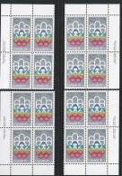 CANADA 1974 SCOTT B2**  PLATE BLOCK SET - Blocks & Sheetlets