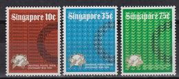 SINGAPORE  211-13 **  MNH (1974) – Centenary Of UPU - Singapour (1959-...)