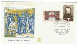 Andorre // FDC // 1977 // Salle Du Conseil - FDC