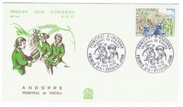 Andorre // FDC // 1978 // Tribunal De Visura - FDC