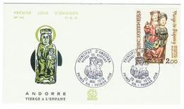 Andorre // FDC // 1978 // Vierge à L'enfant - FDC