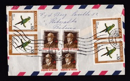 Bolivia: Airmail Cover To Netherlands, 1984, 13 Stamps, Parrot Bird, Baden Powell Scouting, Siles, Rare (roughly Opened) - Bolivia