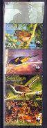 SAINTE LUCIE 2001 SG 1242/5 ** MNH .  (5R77) - Moineaux