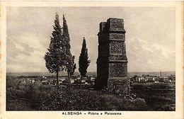 CPA ALBENGA Pilone E Panorama. ITALY (530533) - Italy