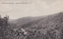 New York Adirondack Mountains Scene Near Star Lake Albertype