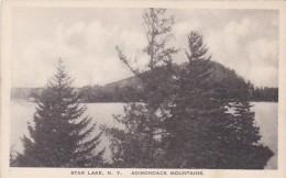 New York Adirondack Mountains Star Lake Albertype