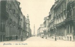 BRUXELLES - Rue Du Congrès - Lanen, Boulevards