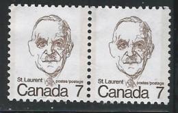 CANADA 1974 592** PAIR CAT VAL US $0.40 - 1952-.... Elizabeth II