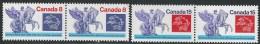 CANADA 1974  SCOTT 648-649** PAIRS CAT VAL US $2.25 - 1952-.... Elizabeth II