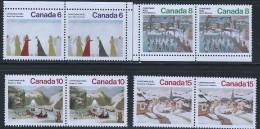 CANADA 1974  SCOTT 65-654** PAIRS CAT VAL US $2.75 - 1952-.... Elizabeth II