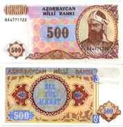Azerbaijan 500 MANAT 1993 -  Pick 19b NEUF UNC - Azerbaïdjan