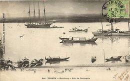 CPA Vietnam Indochine TONKIN Haïphong - Port De Commerce (61079) - Cartes Postales