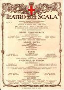 B 1474 - Teatro Alla Scala - Programmi