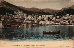 CPA Monaco-Les Thermes Valencia Et La Condamine (234337) - Monaco