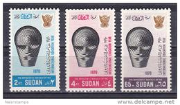 Sudan 1971 ( International Education Year ) - Complete Set - MNH (**) - Sudan (1954-...)