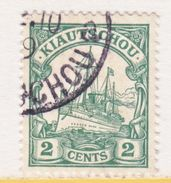 KIAUCHAU  34  (o)    Wmk. - Colony: Kiauchau