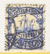 KIAUCHAU  36   (o)    Wmk. - Colony: Kiauchau