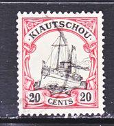 KIAUCHAU  37   (o)    Wmk. - Colony: Kiauchau