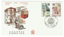 Andorre // FDC // 1979 //  Europa 1979 - FDC