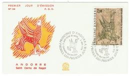 Andorre // FDC // 1979 //  Saint Cerny De Nagol - FDC