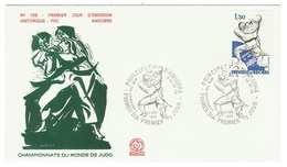 Andorre // FDC // 1979 //  Championat Du Monde De Judo - FDC