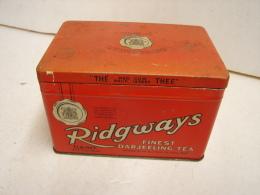 Boîte. 7. Thé Ridgways - Boîtes