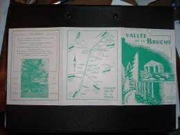 DEPLIANT SYNDICAT VALLEE DE LA BRUCHE à SCHIRMECK (67 BAS-RHIN) Vers 1960 - Dépliants Touristiques