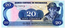 NICARAGUA 20 CORDOBAS 1985 Pick 152 Unc - Nicaragua