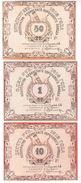 Russia // Kazan Cooperative Of The Powder Factory 50 Kopecks + 1 Ruble + 10 Rubles - Russie