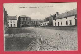 Aiseau - La Place Vers La Maison Communale - 192? ( Voir Verso ) - Aiseau-Presles