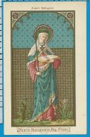 Holycard    St. Augustin    228    St. Radegundis - Images Religieuses
