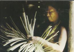 "Indiens Emberas(Orewa) Choco-Colombie - Carte En Faveur De 'l'Aide Médicale Internationale"" - Colombia"