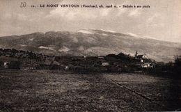 LE MONT VENTOUX -84- BEDOIN A SES PIEDS - Otros Municipios