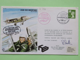 Great Britain 1979 Signed Military Special Cover From Dunsfold To U.K. - Plane - A.W. *Bill( Bedford / Machin Dragon - 1952-.... (Elizabeth II)