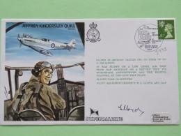 Great Britain 1979 Signed Military Special Cover From RAF Abingdon To U.K. - Plane - Jeffrey Kindersley Quill / Machin L - 1952-.... (Elizabeth II)