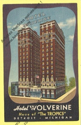 ETAT UNIS Detroit MICHIGAN   Hotel Wolverine - Detroit
