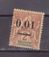 MADAGASCAR             N°  51 C      NEUF AVEC CHARNIERES        ( Ch     389   ) - Madagascar (1889-1960)