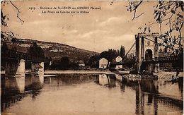 CPA   Environs De St-Genix-sur-Guiers (Savoie) - Les Ponts De Cordon   (438691) - France