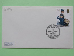 """Great Britain 1983 Military Special Cover """"""""Battle Honours Korea"""""""" - Drummer - Drum Music - Covers & Documents"""